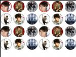 24 x Jonas Brothers Rice paper Bun - Cake Tops toppers